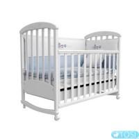 Детская кроватка Верес Соня ЛД9 с резьбой