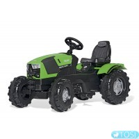 Педальный трактор Deutz-Fahr 5120 Rolly Toys 601240