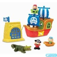 Пираты корабль + ворота игровой набор KEENWAY