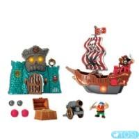Пиратский остров крепость + корабль KEENWAY