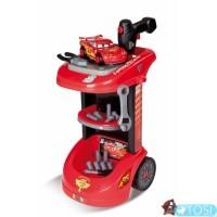 Мастерская тележка с инструментами и машинкой Smoby Cars 2  500188