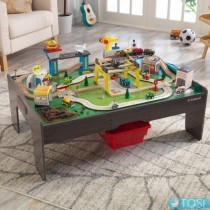 Игровой стол KidKraft 18026 Мой собственный набор автомобилей и поездов