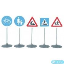 Игровой Набор дорожных знаков Klein 2993, 72 см