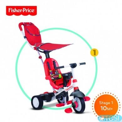 Трехколесный Велосипед Charisma 4 в 1 Fisher Price