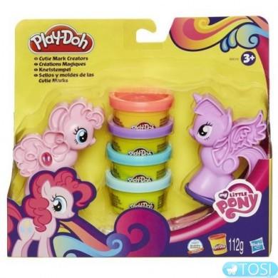 """Play-Doh Игровой набор """"Пони: Знаки Отличия"""""""
