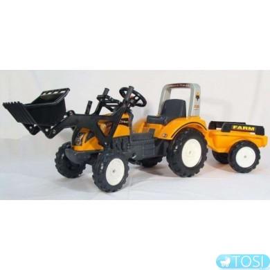 Педальный Трактор с Прицепом и Ковшом Ranch Falk