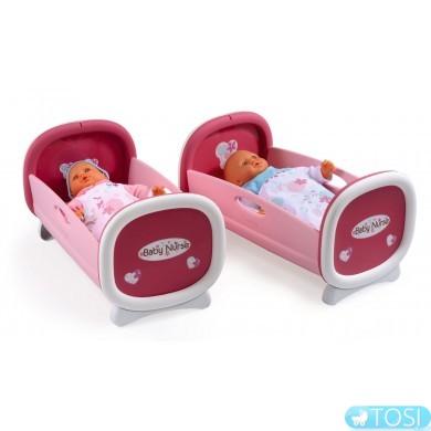 Колыбель для куклы Двухъярусная Baby Nurse Smoby