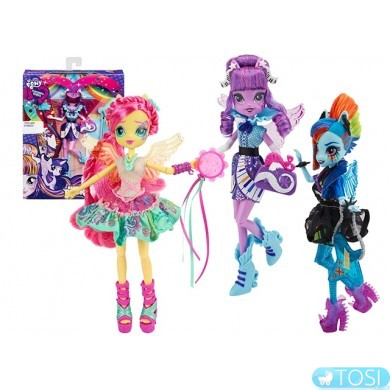 Куклы Equestria Girls