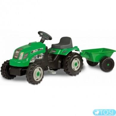Трактор Педальный с Прицепом GM Bull Smoby