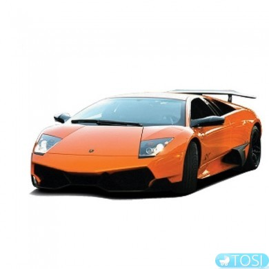 Машинка микро р/у 1:43 лиценз. ShenQiWei Lamborghini LP670 (оранжевый)
