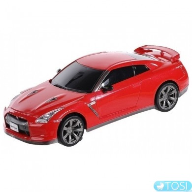 Машинка микро р/у 1:43 лиценз. ShenQiWei Nissan GT-R (красный)