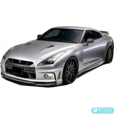 Машинка микро р/у 1:43 лиценз. ShenQiWei Nissan GT-R (серый)