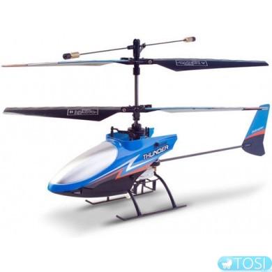 Вертолёт 4-к микро р/у 2.4GHz Xieda 9998 соосный (синий)