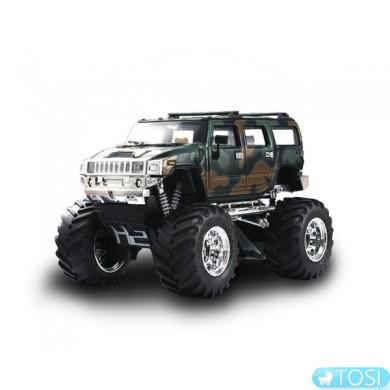 Джип микро р/у 1:43 Hummer (хаки зеленый) Great Wall Toys