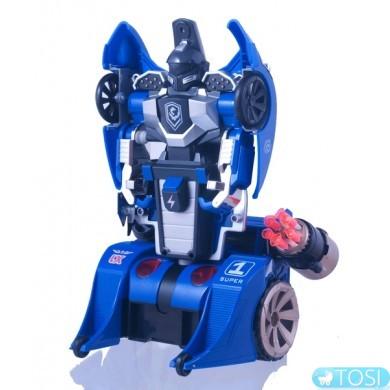 Трансформер на р/у  LX Toys Knight (синий)