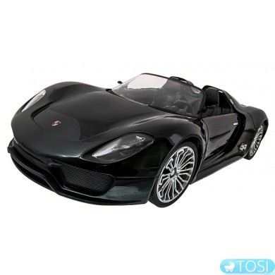 Машинка р/у 1:14 Meizhi лиценз. Porsche 918 (черный)