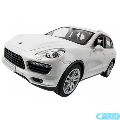 Машинка р/у 1:14 Meizhi лиценз. Porsche Cayenne (белый)