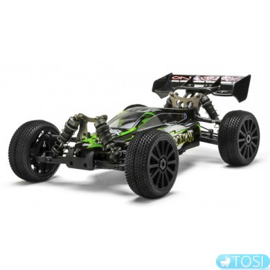 Багги 1:8 Himoto Shootout MegaE8XBL Brushless (зеленый)