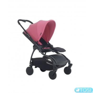 Прогулочная коляскаiCandy RASPBERRY ARCTIC NIGHT FUCHSIA, цвет розовый, шасси черное