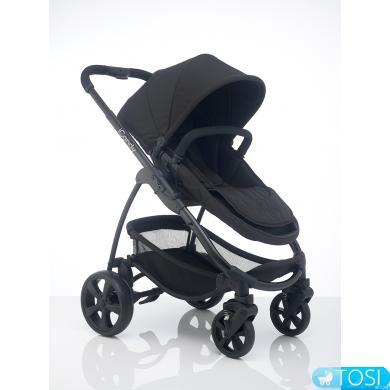 Универсальная коляска iCandy 2 в 1 STRAWBERRY 2 ANTHRACITE, цвет Earl Grey серый, шасі чорне