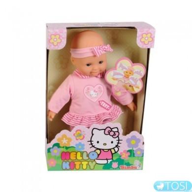 Кукла Simba Hello Kitty Первые звуки со звук. эффектом, 30 см