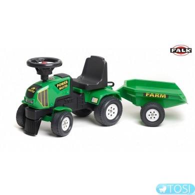 Трактор Kаталка с Прицепом Power Master Falk