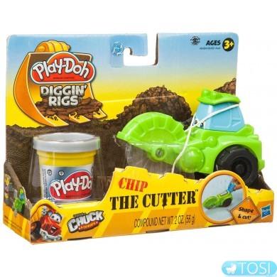 """Play-Doh Игровой набор с массой для лепки """"Машинки для строительства дорог"""""""