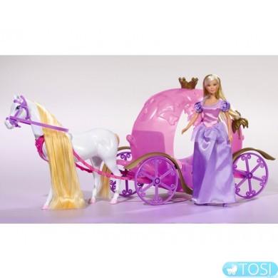 Кукла Steffi Принцесса в Карете Simba 5733974