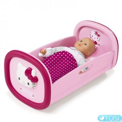 Колыбель для куклы Hello Kitty Smoby