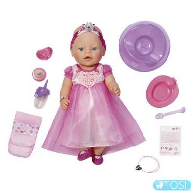 Интерактивный пупс Принцесса Bobas Baby Born Zapf Creation