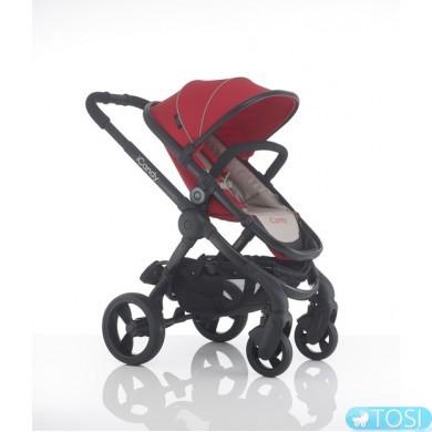 Прогулочная коляска iCandy PEACH 3 SHERBET + люлька, цвет красный