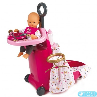 Раскладной чемодан Smoby Baby Nurse 220316