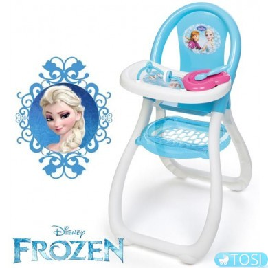 Стульчик для кормления пупса Smoby Frozen 240204
