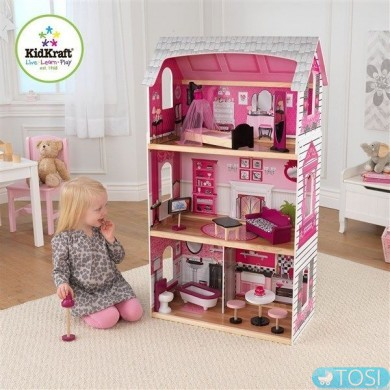 Кукольный домик KidKraft Pink and Preety 65865