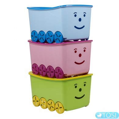 Ящик для игрушек Tega baby Play 52L