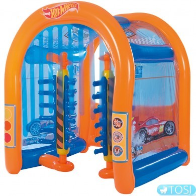 Игровой центр Bestway Hot Wheels Автомойка  93406