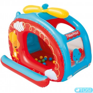 Игровой центр Bestway Вертолёт Fisher Price 93502