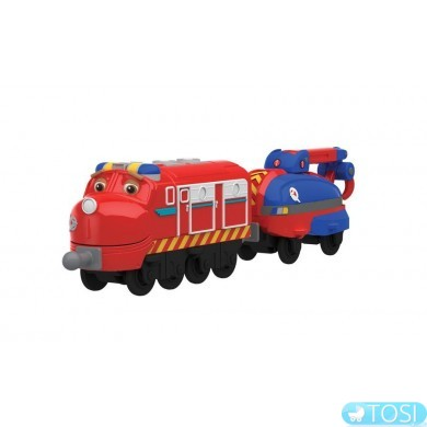 "Паровозик Chuggington  ""Вилсон"" со спасительным вагоном"