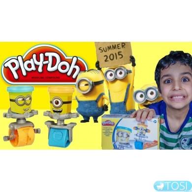 Игровой набор Гонки миньонов Play-Doh