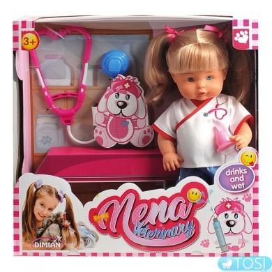 Говорящая кукла Bambolina Нена Доктор