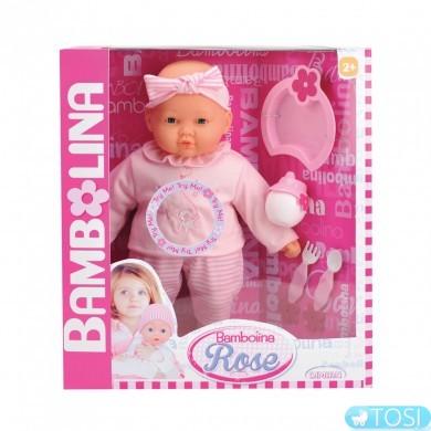 Говорящая кукла Bambolina Rose, укр. яз.