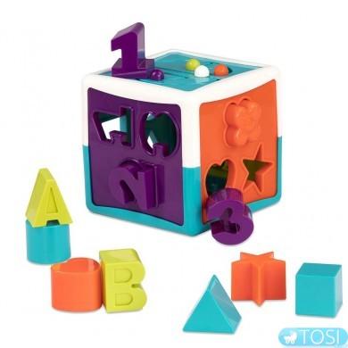 Игрушка сортер Battat Умный куб