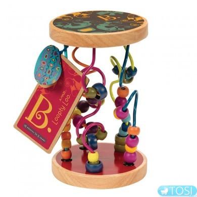 Развивающая деревянная игрушка Battat Разноцветный лабиринт