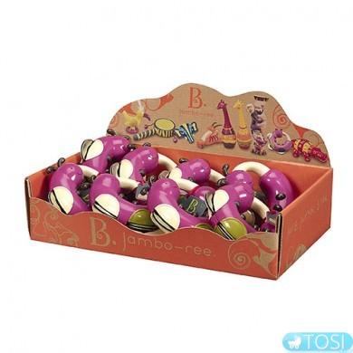 Музыкальная игрушка Battat серии Джунгли тамбурин Гусеница