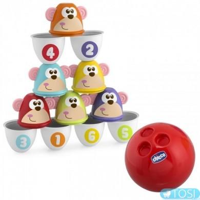 Игровой набор Цветные кегли Chicco 05228