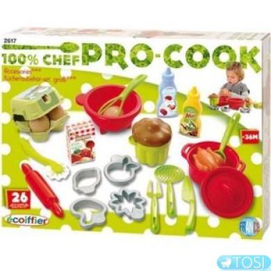 Набор Ecoiffier Pro-Cook для выпечки, 26 аксес.