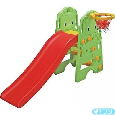 Детский игровой центр – горка Edu-Play Медвежонок WJ-313
