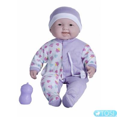 Пупс JC Toys Весельчак в сиреневой шапочке, 51 см