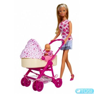 Кукла Simba Штеффи с младенцем 5730861
