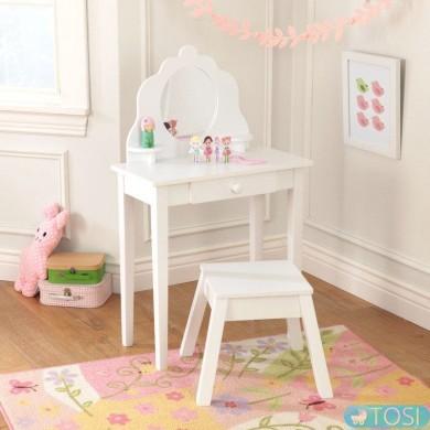 Туалетный столик Medium Vanity & Stool Kidkraft 13009